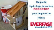 EVERFAST POROSTOP, Hydrofuge de Surface