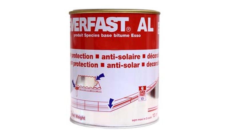 Peinture aluminium en emulsion protection uv repousseur thermique al everfast - Peinture isolante thermique interieure ...
