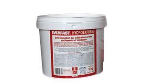 ciment hydraulique prise rapide infiltration eau hydroexpress everfast. Black Bedroom Furniture Sets. Home Design Ideas